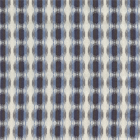 Many Dots Indigo Ikat Drapery Fabric by Robert Allen