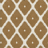 Souk Copper Woven Diamond Upholstery Fabric by Robert Allen