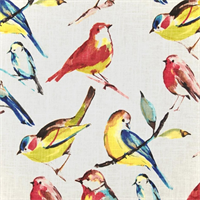 Birdwatcher Summer Drapery Fabric by Richloom