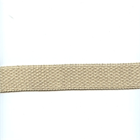 HD209/01 Natural Tan Woven Tape Trim
