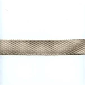 HD209/05 Taupe Grey Woven Tape Trim