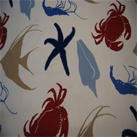 Sea Life American Indoor/Outdoor Fabric by Duralee