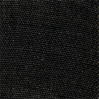 Bur-21 Solid Black Metallic Burlap Drapery Fabric