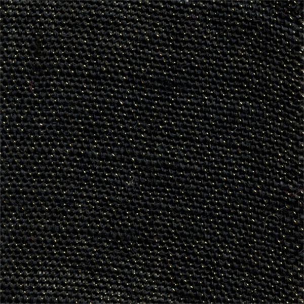 Bur-21 Solid Black Metallic Burlap Drapery Fabric ...