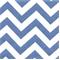Zig Zag Baby Blue/White Stripe Premier Print Drapery Fabric