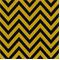 Zig Zag Black/Corn Yellow Stripe Premier Print Drapery Fabric