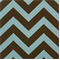 Zig Zag Village/Natural Stripe Premier Print Drapery Fabric