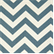 Zig Zag Denim/Natural Stripe Premier Print Drapery Fabric
