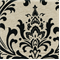 Traditions Black /Linen Drapery Fabric by Premier Prints