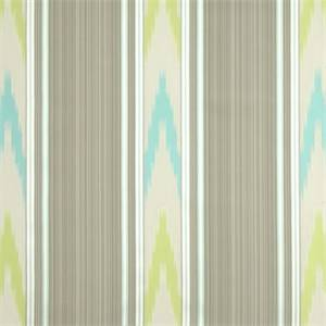 Manipur Shade Ikat Stripe Drapery Fabric by Williamsburg