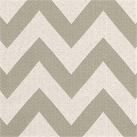 Chevron Chic Quartz Stripe Upholstery Fabric by Waverly