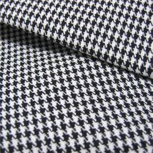 Harper Houndstooth Black White Upholstery Fabric By Roth And