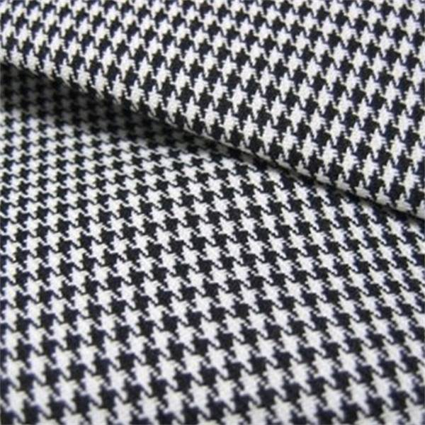 Harper Houndstooth Blackwhite Upholstery Fabric By Roth And