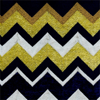 Chevron Honey Comb Stripe Chenille Upholstery Fabric