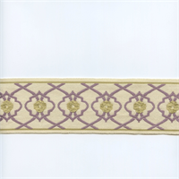 EA271/05 Lavender Purple/Chartreuse Green Tape Trim