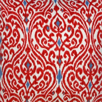 Srilanka Jewel Ikat Cotton Drapery Fabric by Waverly