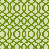 Sultana Lattice Citrine Contemporary Drapery Fabric