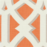 Elton Mandarin Contemporary Geometric Design Drapery Fabric