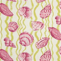 Sea Life Tropic Cotton Aquatic Drapery Fabric