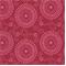 Esha Raspberry Pink Reversable Floral Upholstery Fabric