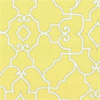 Windsor Geometric 886 Mustard Drapery Fabric