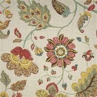 Spring Mix Spring Floral Drapery Fabric by Robert Allen