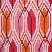 Sketch Bengal Ikat Print Drapery Fabric