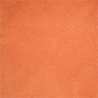 Mission Suede Tangerine Orange Upholstery Fabric - 25 Yard Bolt