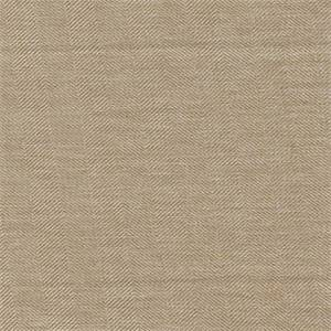 Showstopper Dune Herringbone Stripe Drapery Fabric by Braemore