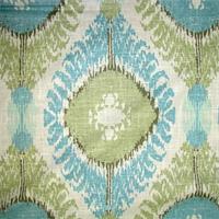 Chimayo Mineral Ikat Print Drapery Fabric