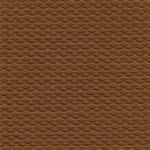 Linton Suede Dark Tan Diamond Matelasse Upholstery Fabric