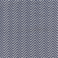 GTX Chevron 008 Navy/White Upholstery Fabric