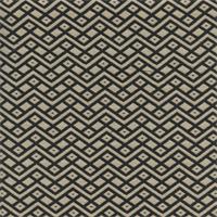 GTX Chevron Diamond Dot 001 Dark Navy/Natural Upholstery Fabric