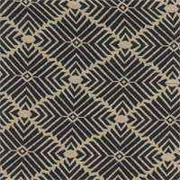 GTX Diamond Striped 004 Dark Navy/Natural Upholstery Fabric