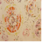 Junoon /MNat Chili Stamped Floral Drapery Fabric