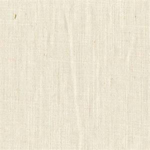 Gent Vanilla Solid Linen Look Drapery Fabric