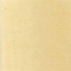 Banks Buttercream Yellow Solid Velvet Upholstery Fabric