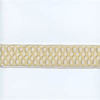 02924-T Soleil Yellow/Grey Tape Trim