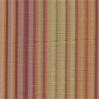 Rainbow Rose Stripe Drapery Fabric