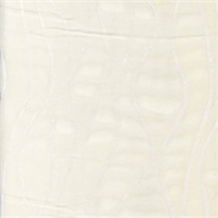 Rhythmics Porcelain Sheer Drapery Fabric