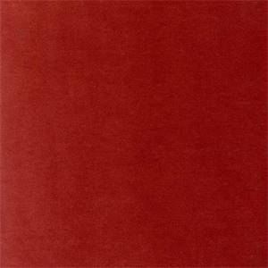 Banks Pompeii Dark Red Solid Velvet Upholstery Fabric