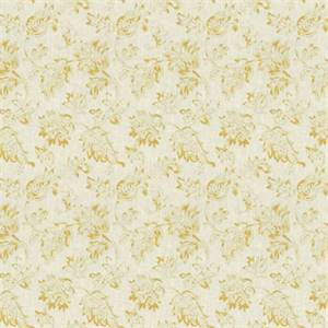 02600 Floral Lemon Zest Drapery Fabric