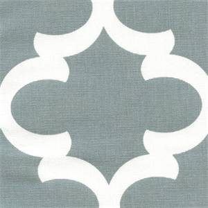 Fynn Cool Grey White Drapery Fabric by Premier Prints