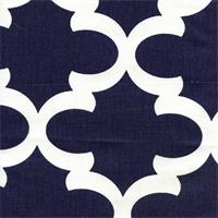 Fynn Blue Drapery Fabric by Premier Prints