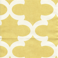 Fynn Saffron Yellow Macon Drapery Fabric by Premier Prints