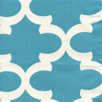 Fynn Apache Blue Macon Drapery Fabric by Premier Prints