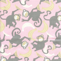 Chimps Storm Bella Twill Drapery Fabric by Premier Prints