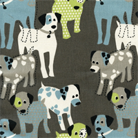 Woof Woof Mantis Macon Drapery Fabric by Premier Prints