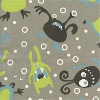 Little Monsters Mantis Macon Drapery Fabric by Premier Prints