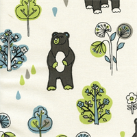 Honey Bears Mantis Macon Drapery Fabric by Premier Prints